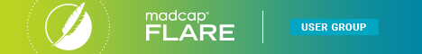 MadCap Flare User Group Banner 368 by 60