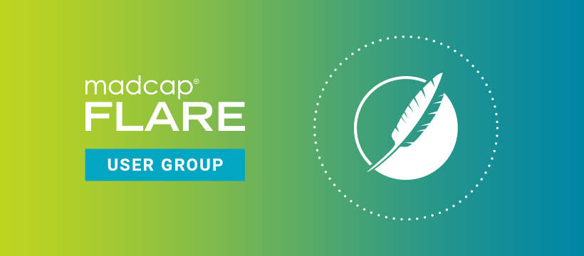 MadCap Flare User Group FaceBook Cover Image