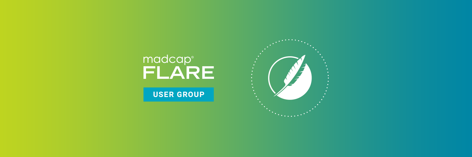 MadCap Flare User Group Twitter Cover Image