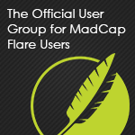 MadCap Flare User Group Banner 150 by 150
