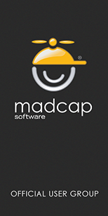 MadCap Software User Group Banner 300 by 600