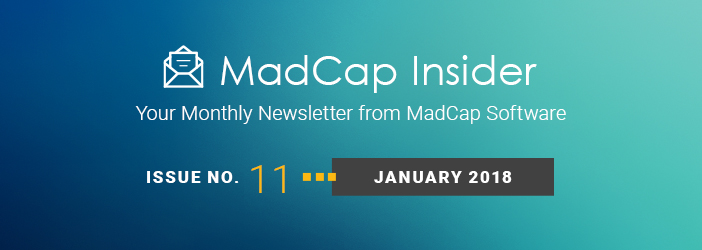 MadCap Insider, Issue No. 11, January 2018
