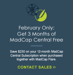 MadCap Central Free Trial