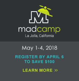 MadCamp: April 10-13, 2018