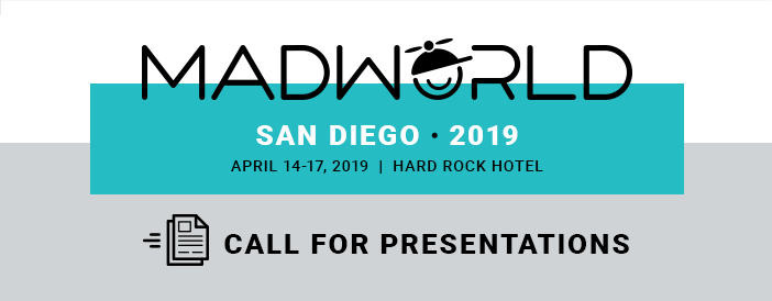MadWorld 2019 Call for Presentations Banner
