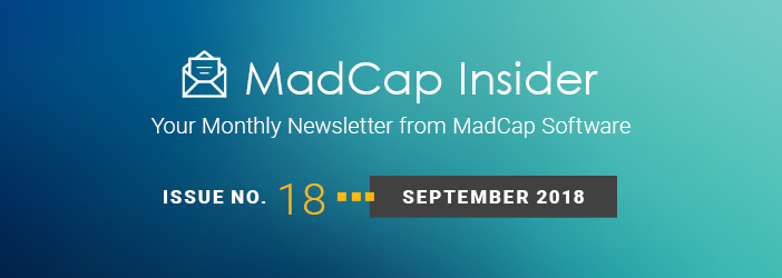 MadCap Insider, Issue No. 18, September 2018
