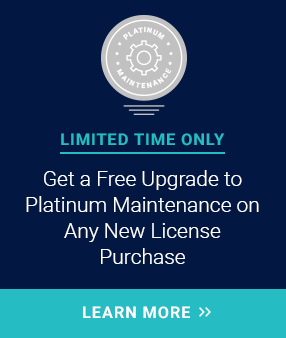Free Upgrade to Platinum Maintenance Banner