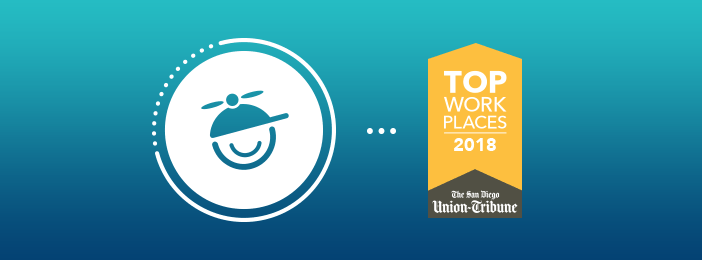 MadCap Software 2018 Top WorkPlaces Banner