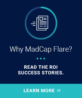 Why MadCap Flare?