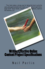 Writing Effective Online Content Project Specifications Book Cover