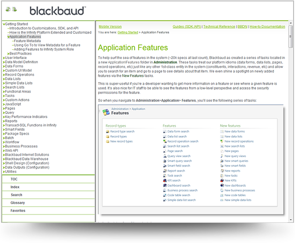 Blackbaud's SDK Guide WebHelp