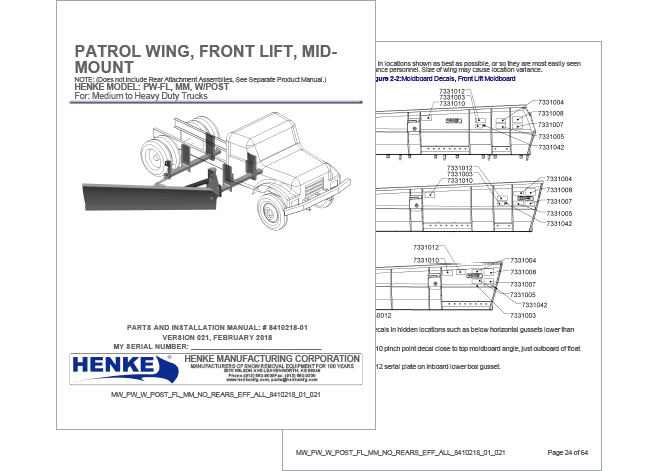 Henke PDF with patrol wing information