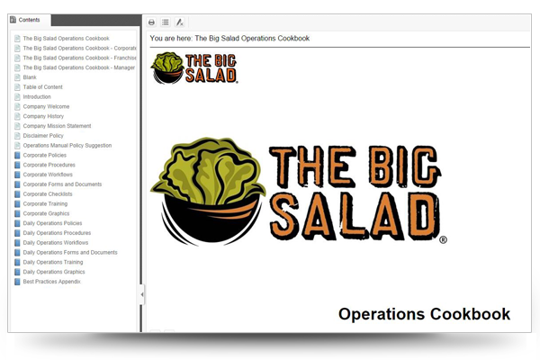 Screenshot of The Big Salad Operations Cookbook