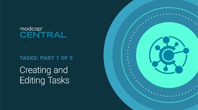 Creating and Editing Tasks