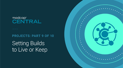 Setting Builds to Live or Keep