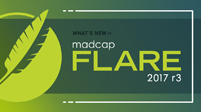 What's New in MadCap Flare 2017