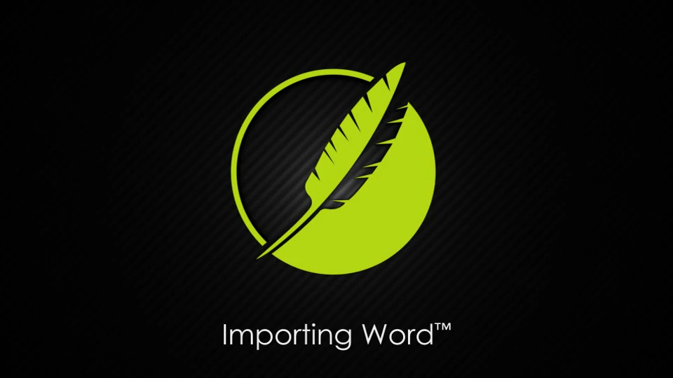 Importing Word