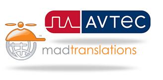 Avtec and MadTranslations Logos