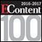 The 2016-2017 EContent 100 Logo