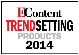 EContent Trendsetting Product Award for 2014