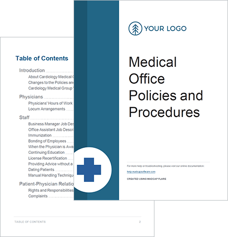 policy and procedure template for medical office.html
