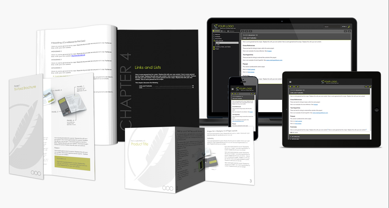 madcap flare templates download madcap flare project templates madcap software