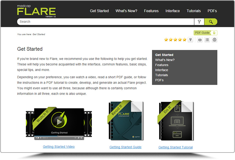 meet madcap flare support